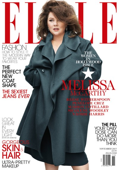 Melissa McCarthy for Vogue, November 2013