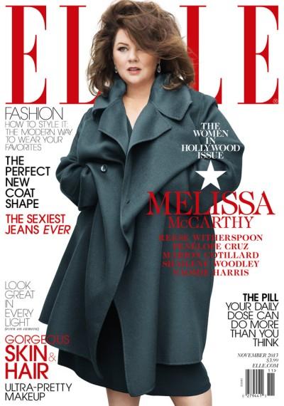 Melissa McCarthy for Vogue, November 2013