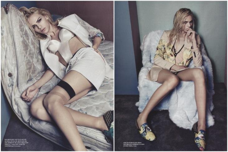 Andrej Pejic for Vogue Korea, January 2014