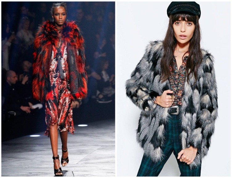 From left: Roberto Cavalli, Urban Outfitters