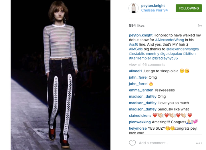 Screengrab: Peyton Knight's Instagram @peyton.knight