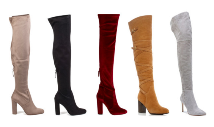 59400d6592 How-to Tuesday: Style Over-the-Knee Boots · October 11, 2016 ...