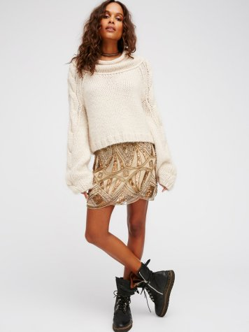 Daydreaming Embellished Mini from Free People / $198