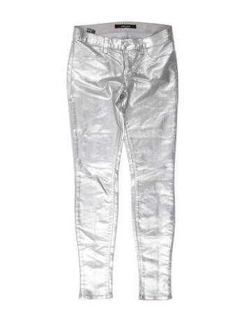 J Brand Metallic Skinny Jeans from therealreal.com / $95